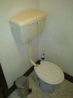 Old High Level Toilet